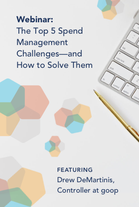 Spend Management Webinar On-demand Featured Image